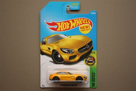 Hotwheels Mercedes 2017 wheels 2017 hw exotics 15 mercedes amg gt yellow