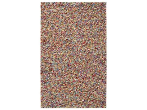 Bright Purple Rug by Surya Confetti Rectangular Bright Purple