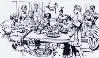 dinner party drawing images amp pictures becuo