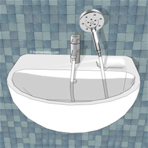 portable shower head for bathtub faucet handheld showerhead guide the basics homeability com
