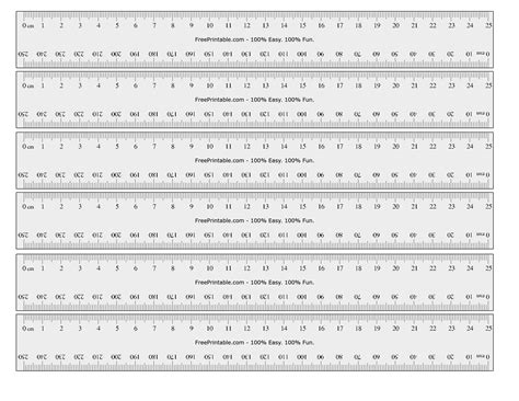 printable ruler decimal inches image gallery mm to inches ruler