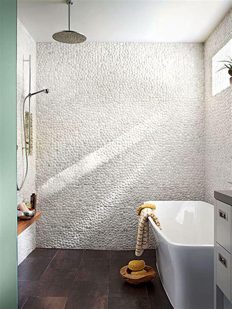 small bathroom open shower doorless showers