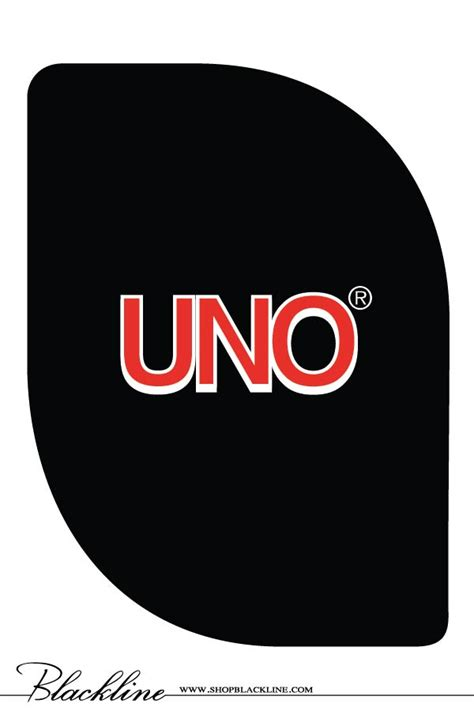 Uno Gift Card - uno thank you cards blackline
