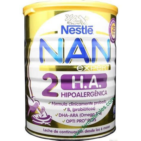 Nan H A Step 2 800 Gr nestle nan h a 2 expert hipoalerg 233 nica 800gr farmaferoles