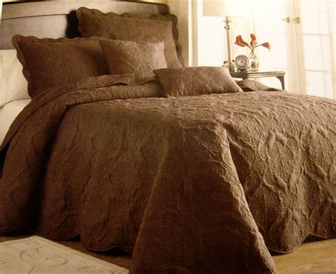 twin bed spreads twin victoria classics genevieve brown quilted pillow