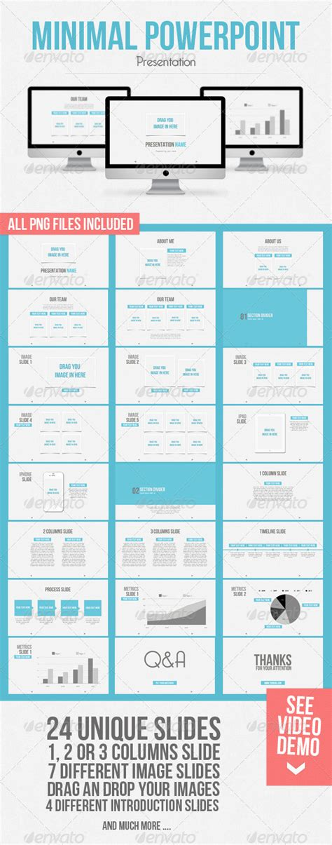 presentation template graphicriver minimal powerpoint hd
