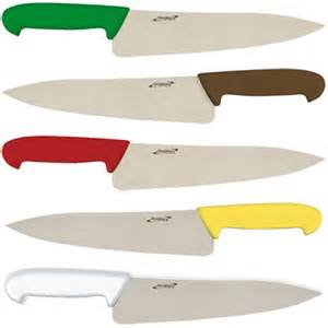 colour coded chefs knives genware genware k c6xx colour coded