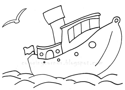 boat coloring pages for toddlers boat coloring pages