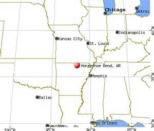 horseshoe bend arizona map