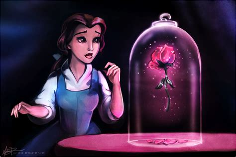 rose in beauty and the beast disney beauty and the beast quotes quotesgram