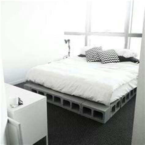 Cinder Block Bed Frame Best 25 Minimalist Bed Frame Ideas Only On Bed Minimalist Bed And Simple Bed Frame