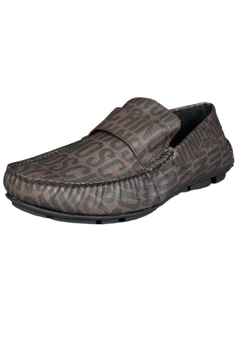 moschino mens loafers moschino loafers shoes 2009569 9101 brown mens new ebay