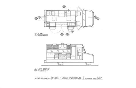 food truck design drawing food truck proposal heather wick