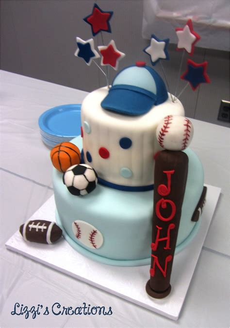 Sports Theme Baby Shower by Lizzi S Creations Sports Theme Baby Shower