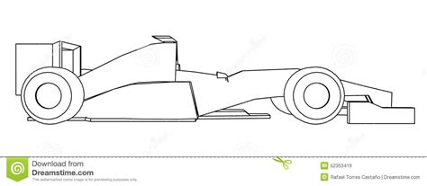 how to draw a car drawing fast race sports cars step by step draw cars like buggati aston martin more for beginners books racing car draw stock illustration image 52353419