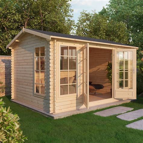 Small Log Cabin Kits Vermont Shedswarehouse Oxford Log Cabins 5m X 4m Vermont