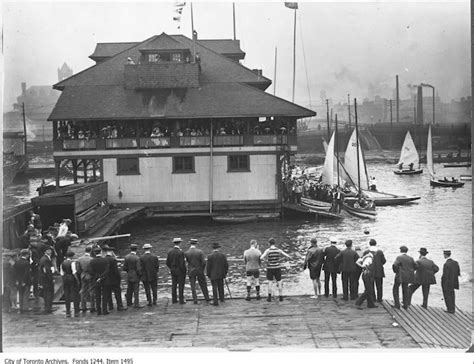 boat club toronto vintage boating photographs from toronto