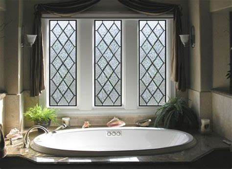 bathroom window glass privacy diamond shaped stained glass bathroom window provides privacy while not blocking