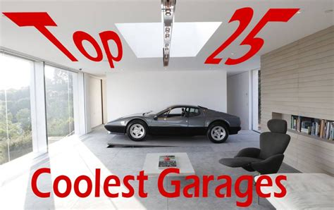 cool car garages the top 25 coolest garages on earth