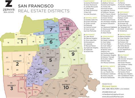 san francisco realtor map san francisco realtor map