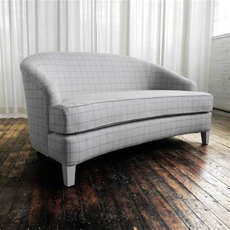 loveseat small sofa curved loveseat bedroom seating