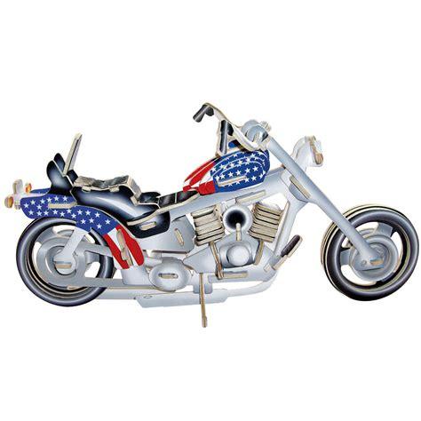 Motorrad Teile Zu Verschenken by 3d Holz Puzzle Motorrad