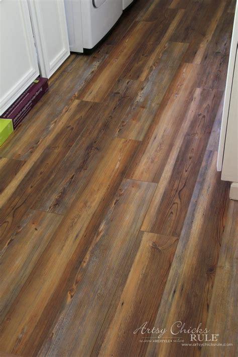 farmhouse vinyl plank flooring  room challenge week  projects   pad vinyl plank