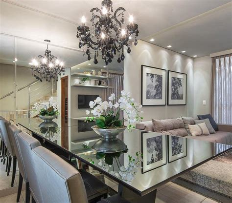 como decorar sala de jantar 60 salas de jantar pequenas decoradas lindamente