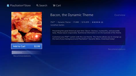 ps4 themes in australia good morning here s the ps4 s dynamic bacon theme