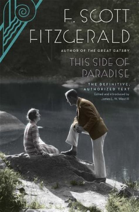 this side of paradise this side of paradise by f scott fitzgerald