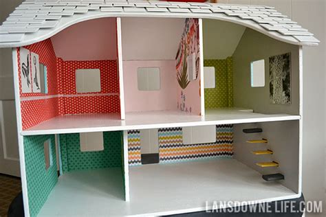 homemade doll house modern diy dollhouse with homemade furniture part 1 of 6 lansdowne life