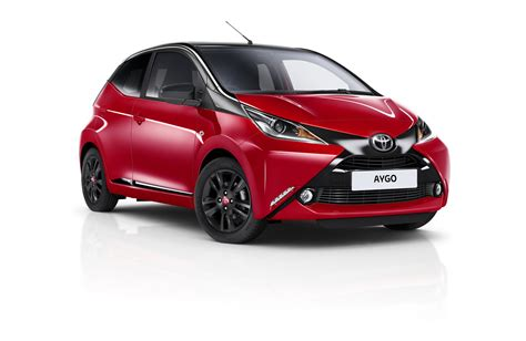 toyota x uk toyota gets x cited while launching this new aygo edition