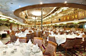 what dining is included on a carnival cruise