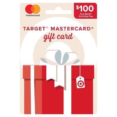 Target Gift Card Fees - mastercard 174 100 6 fee gift card target