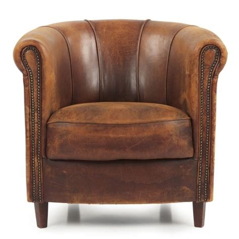 stylish and comfortable small leather club chair photos 61