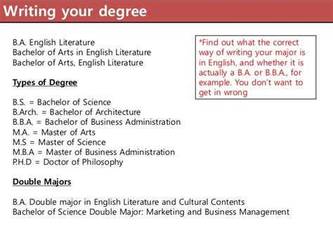 how to write bachelor of arts degree on resume 5 education qualifications