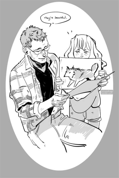 An exceptional step father. Luke and little Clary, for