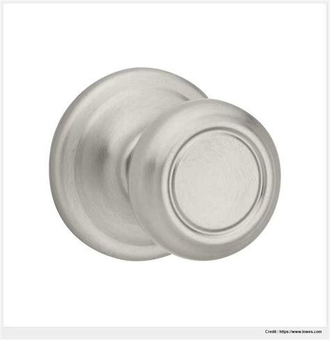 brushed nickel interior door knobs brushed nickel door knobs interior image mag
