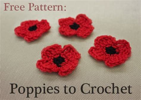 free pattern for knitted poppies pinterest the world s catalog of ideas