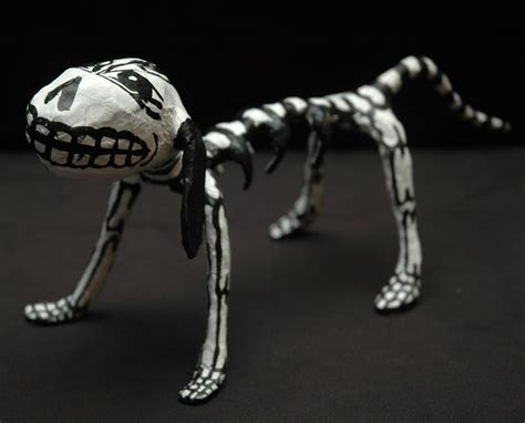 How To Make A Skeleton With Paper - paper mache skeleton out of stock