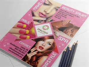 hair and beauty salon flyer template landisher