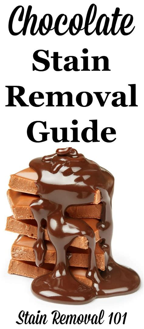 how to clean chocolate from upholstery 1000 ideas about remove chocolate stains on pinterest