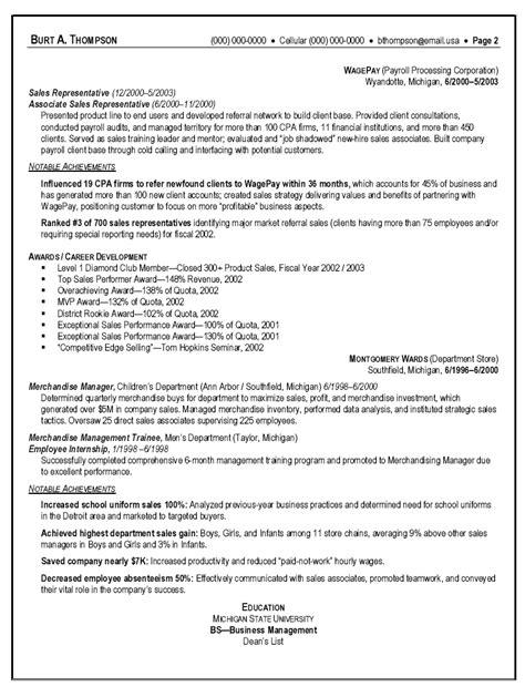 resume templates for sales representative description sample car