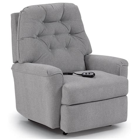 Space Saver Recliner Chairs by Best Home Furnishings Recliners Medium Cara Power Space Saver Recliner Darvin Furniture