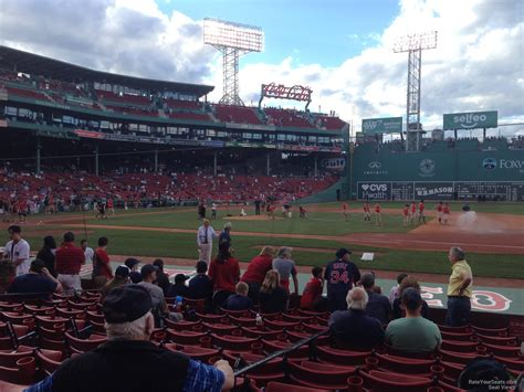 section 24 fenway park fenway park field box 24 rateyourseats com