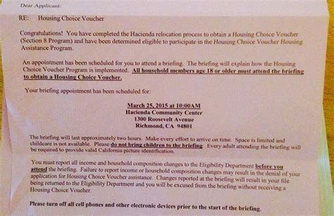 section 8 appointment at hacienda some tenants are having trouble searching for