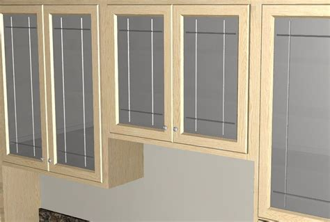 Kitchen Cabinet Glass Door Replace Kitchen Cabinet Doors Marceladick