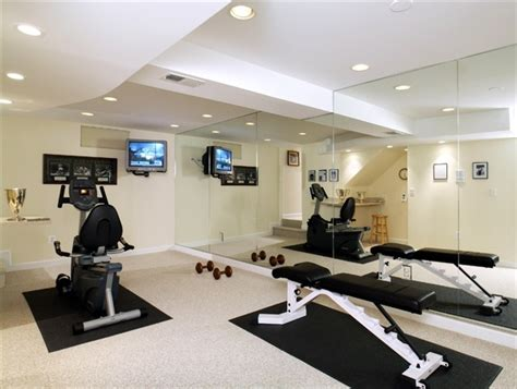 how to work out in your bedroom basement workout room interiors basement pinterest