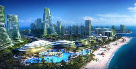 china construira una ciudad sobre el mar por