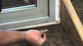 weep holes in sliding glass door how to replace the weep covers on a premium vinyl